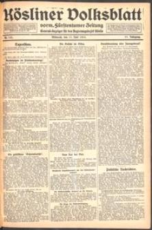 Kösliner Volksblatt [1919-06] Nr. 133