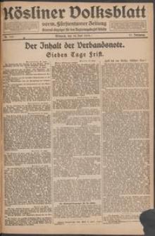 Kösliner Volksblatt [1919-06] Nr. 139