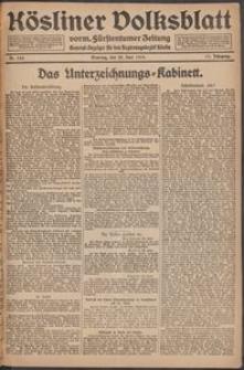 Kösliner Volksblatt [1919-06] Nr. 143