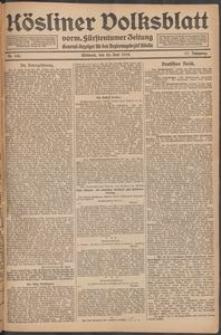 Kösliner Volksblatt [1919-06] Nr. 145