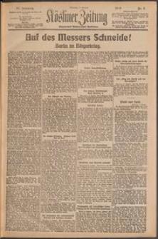Kösliner Zeitung [1919-01] Nr. 5