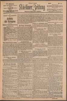 Kösliner Zeitung [1919-01] Nr. 11