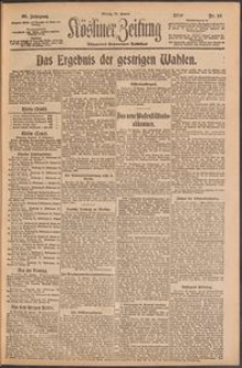 Kösliner Zeitung [1919-01] Nr. 16