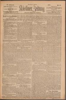 Kösliner Zeitung [1919-01] Nr. 21