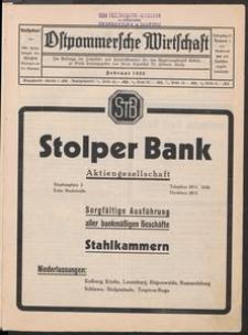 Ostpommersche Wirtschaft, Nummer 1