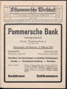 Ostpommersche Wirtschaft, Nummer 4