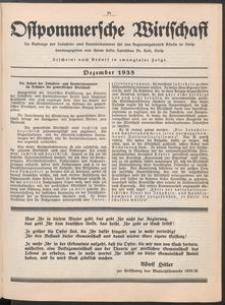 Ostpommersche Wirtschaft, Dezember 1935, [Nummer 7]