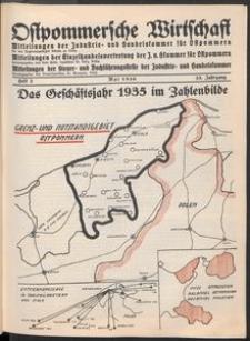 Ostpommersche Wirtschaft, Mai 1936, Heft 3