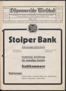 Ostpommersche Wirtschaft, Mai 1932, Nummer 3