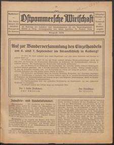 Ostpommersche Wirtschaft, August 1924, Nummer 5
