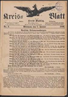 Kreisblatt für den Kreis Bublitz 1880