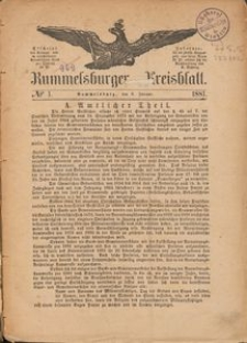 Rummelsburger Kreisblatt 1881