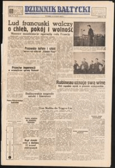 Dziennik Bałtycki, 1950, nr 45