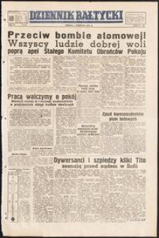 Dziennik Bałtycki, 1950, nr 91