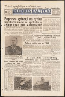 Dziennik Bałtycki, 1950, nr 92