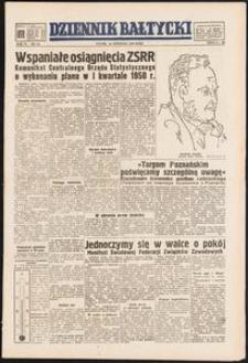 Dziennik Bałtycki, 1950, nr 116