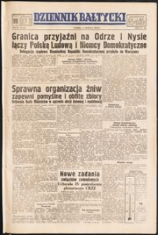 Dziennik Bałtycki, 1950, nr 154