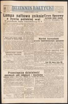 Dziennik Bałtycki, 1950, nr 177