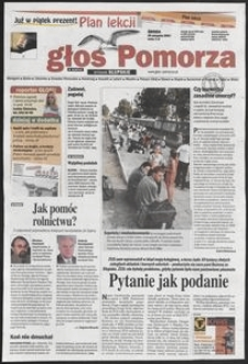 Głos Pomorza, 2001, sierpień, nr 200