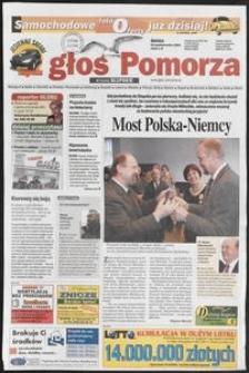 Głos Pomorza, 2001, październik, nr 248