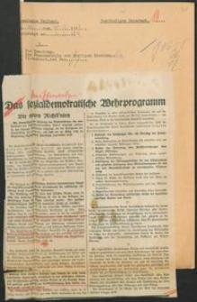 """Wycinek z """"Vossische Zeitung"""" z 30.12.1928, nr 311"""