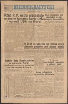Dziennik Bałtycki, 1950, nr 178