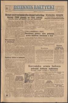 Dziennik Bałtycki, 1950, nr 180
