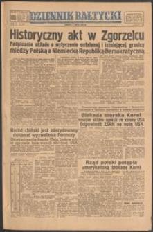 Dziennik Bałtycki, 1950, nr 186