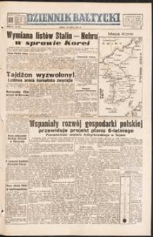 Dziennik Bałtycki, 1950, nr 197