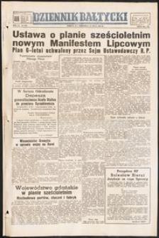 Dziennik Bałtycki, 1950, nr 200