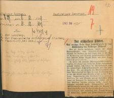 """Wycinek z """"Kösliner Zeitung"""" z 8.12.1928 r., nr 289"""