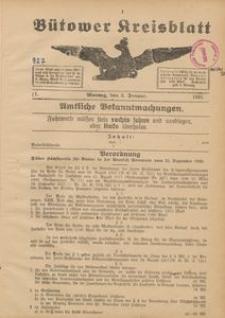 Bütower Kreisblatt 1921