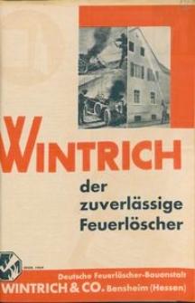 """Ulotka informacyjna firmy """"Wintrich & Co."""""""