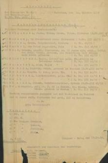 Wykaz osób poszukiwanych z przesłany prezydentowi rejencji koszalińskiej z 10.10.1939 r.