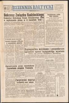 Dziennik Bałtycki, 1950, nr 206