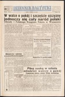 Dziennik Bałtycki, 1950, nr 241