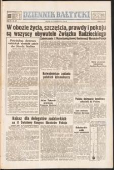 Dziennik Bałtycki 1950/10 Rok VI Nr 289