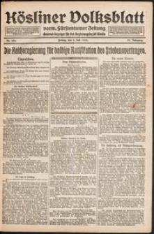 Kösliner Volksblatt [1919-07] Nr. 153