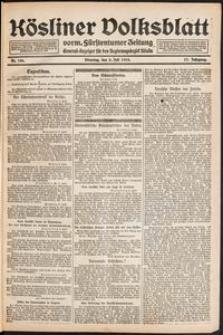 Kösliner Volksblatt [1919-07] Nr. 156