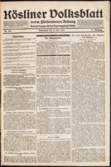 Kösliner Volksblatt [1919-07] Nr. 160