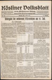 Kösliner Volksblatt [1919-07] Nr. 162