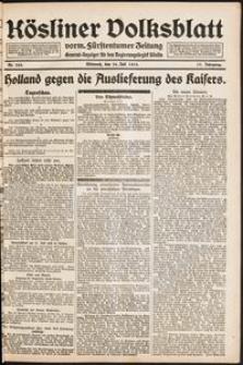 Kösliner Volksblatt [1919-07] Nr. 163
