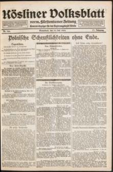 Kösliner Volksblatt [1919-07] Nr. 166