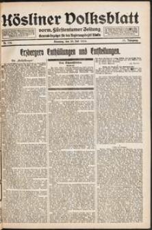 Kösliner Volksblatt [1919-07] Nr. 174