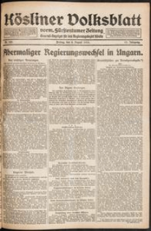 Kösliner Volksblatt [1919-08] Nr. 183