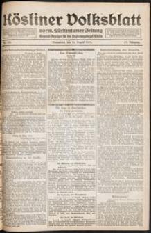 Kösliner Volksblatt [1919-08] Nr. 190