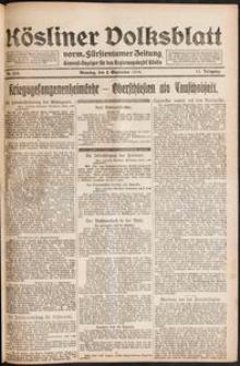 Kösliner Volksblatt [1919-09] Nr. 204