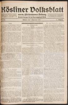 Kösliner Volksblatt [1919-09] Nr. 205