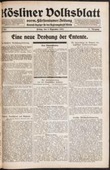 Kösliner Volksblatt [1919-09] Nr. 207