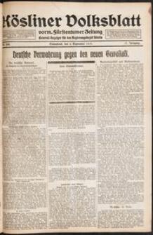 Kösliner Volksblatt [1919-09] Nr. 208